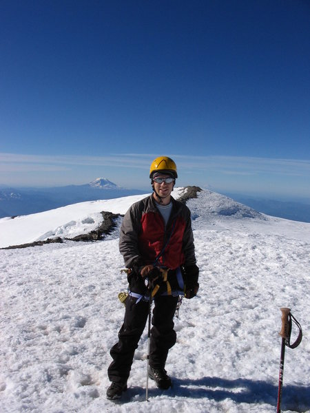 Rock Climbing Photo: Summit of Mt. Rainier.  Tuesday July 10th, 10:35 A...