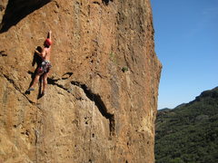 Rock Climbing Photo: Echo is a perfect outdoor gym in early March.  The...