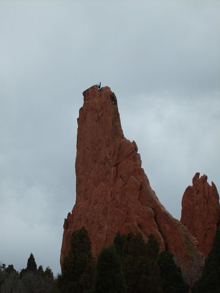Rock Climbing Photo: Fun exposure