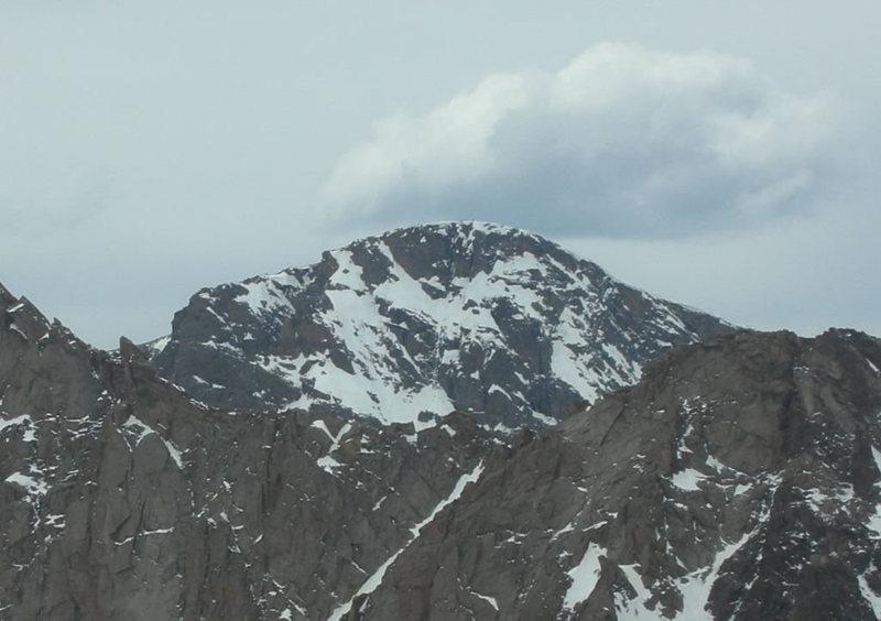Rock Climbing Photo: East Face of Taylor Mtm taken from Arrowhead summi...