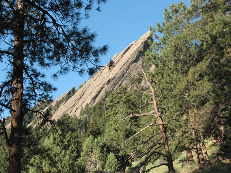 Rock Climbing Photo: 3rd Flatiron.