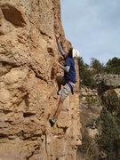 Rock Climbing Photo: Andre cruising.