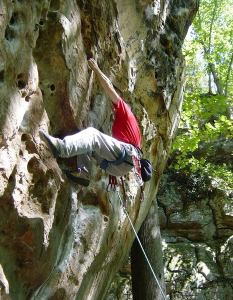 Bouldery moves off the deck. (ca. 2003)