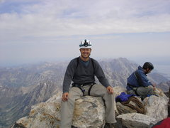 Rock Climbing Photo: Sitting on top of the Grand Teton