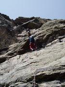 Rock Climbing Photo: The juggy ceiling. Photo by Paul Rezucha.