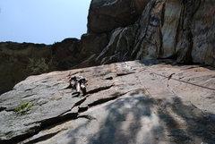 Rock Climbing Photo: TR'ing Whetstone.