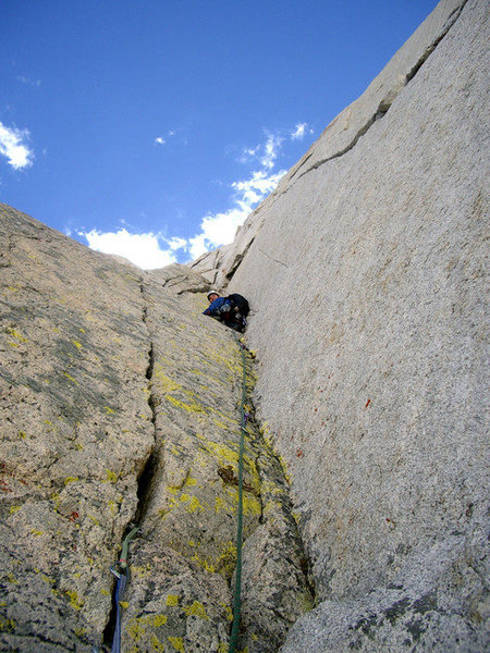 Rock Climbing Photo: The Triple Crack Pitch (5).