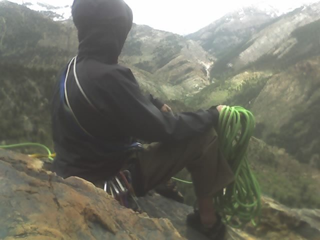 tony at the top of jam crack