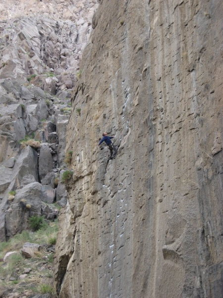 Here I am blatantly violating the 'No Posing' rule at Owens.  Pick Pocket, .11a.