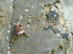 "Rock Climbing Photo: ""Paradise Lost"" .13b Purgatory"