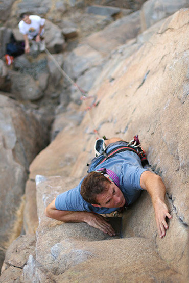 "Rock Climbing Photo: ""The Ramp"" at Mission Gorge, San Diego, ..."