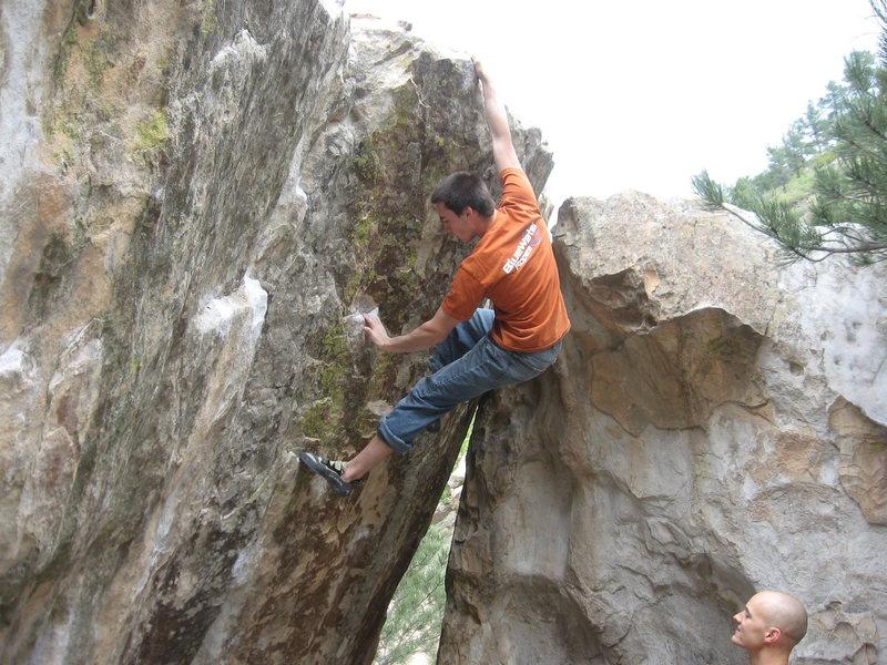 Rock Climbing Photo: Jerad Friedrichs on Chick Power.