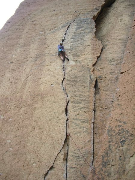 Rock Climbing Photo: Karate Crack