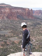 Rock Climbing Photo: Top of an unknown tower with Rainbow Tower, Mikes ...