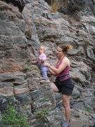Rock Climbing Photo: Norah and melisa