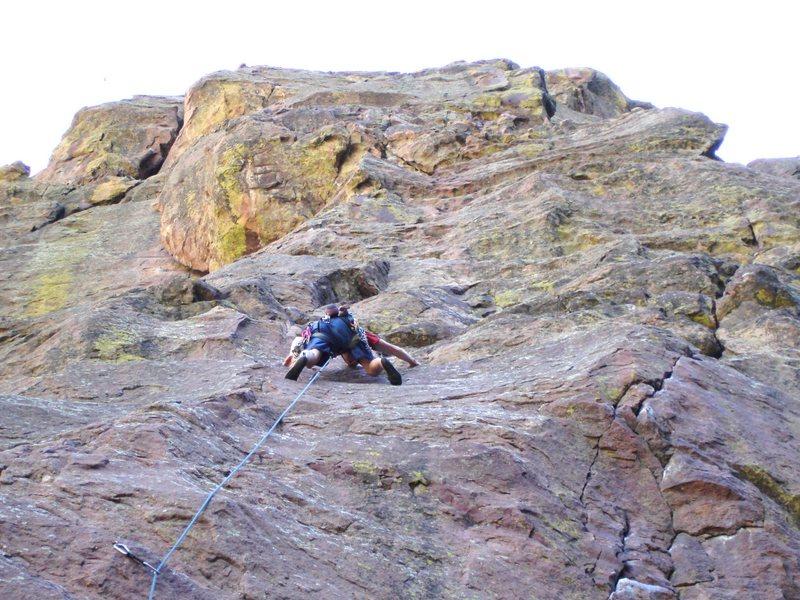 Rock Climbing Photo: Hair City