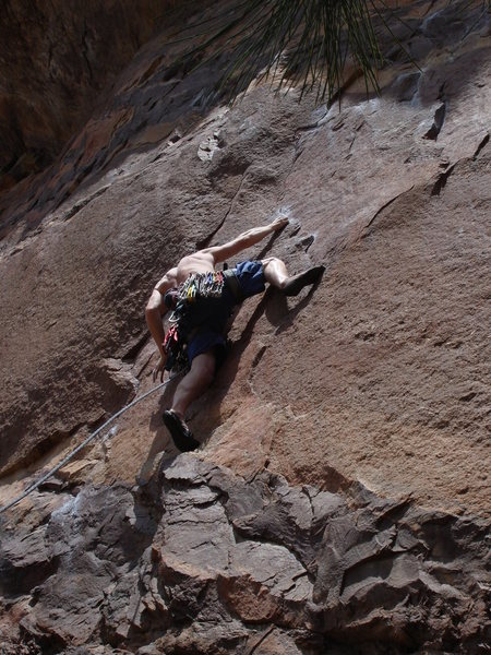 Rock Climbing Photo: Guenese