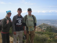 Rock Climbing Photo: 3 stacks at La Cumbre Peak