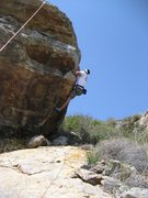 Rock Climbing Photo: Eddie on Arm & Hammer
