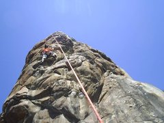 Rock Climbing Photo: Flaming Arrows