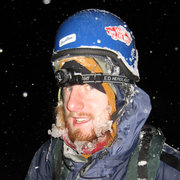 Rock Climbing Photo: Look at that ice!!! That's what 16 hours of contin...