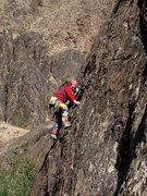 "Rock Climbing Photo: ""Cool Enough"". Photo by Blitzo."