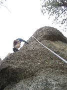 "Rock Climbing Photo: Climbing ""Anal Probe"" on The Point/Besid..."