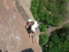 Rock Climbing Photo: Cruxxin it.