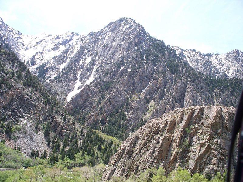 Rock Climbing Photo: Storm Mountain Area