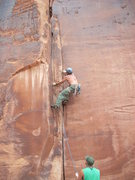 Rock Climbing Photo: Red Point of Dark Corner.11b- Maverick Buttress Mo...