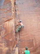 Rock Climbing Photo: Red Point of Dark Corner.11b- Maverick Buttress Mo...