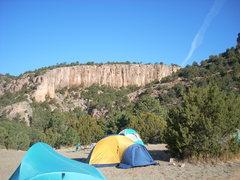 Rock Climbing Photo: Contest Wall- Shelf Road