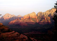 Rock Climbing Photo: Sunrise- Sedona, AZ