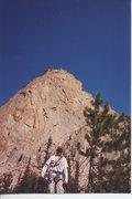 Rock Climbing Photo: Elephants Perch, ID- IV 5.8, Amazing