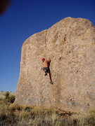 Rock Climbing Photo: Bouldering- City of Rocks, NM. Yes, NM.