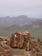 Rock Climbing Photo: Bouldering in Phoenix Area- look how green the des...