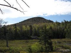 Rock Climbing Photo: Crane Mountain from Crane Mountain Pond.