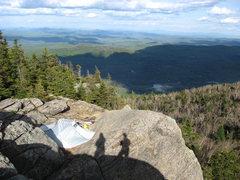 Rock Climbing Photo: Right Buttress from Left Buttress