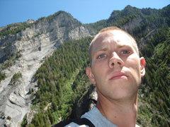 Rock Climbing Photo: On Cool World, Rock Canyon