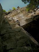 Rock Climbing Photo: Voyeur Variation, NRG.
