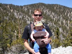Rock Climbing Photo: Sixth month old Quinn, and his daddy. A true outdo...