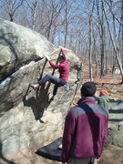 Rock Climbing Photo: Lincoln Woods classic