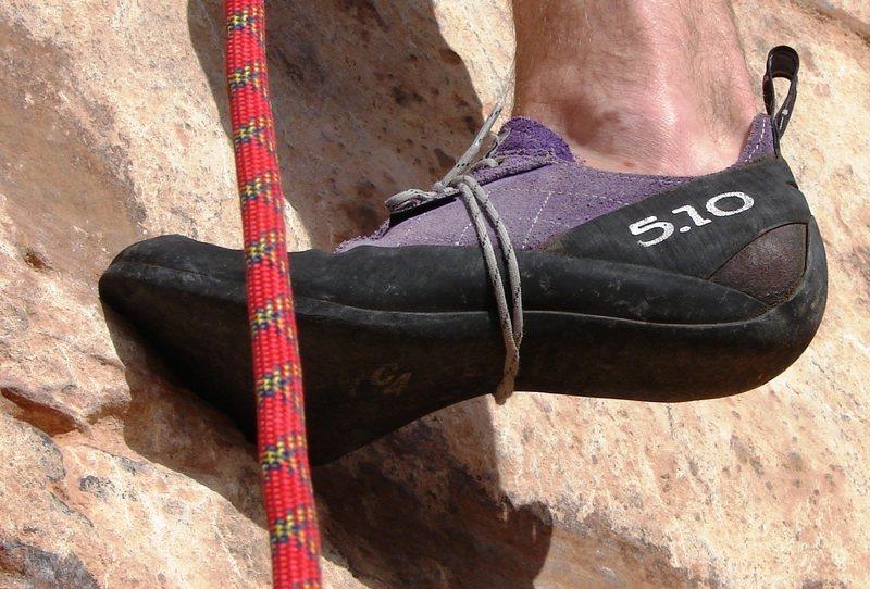 Rock Climbing Photo: moab, foot