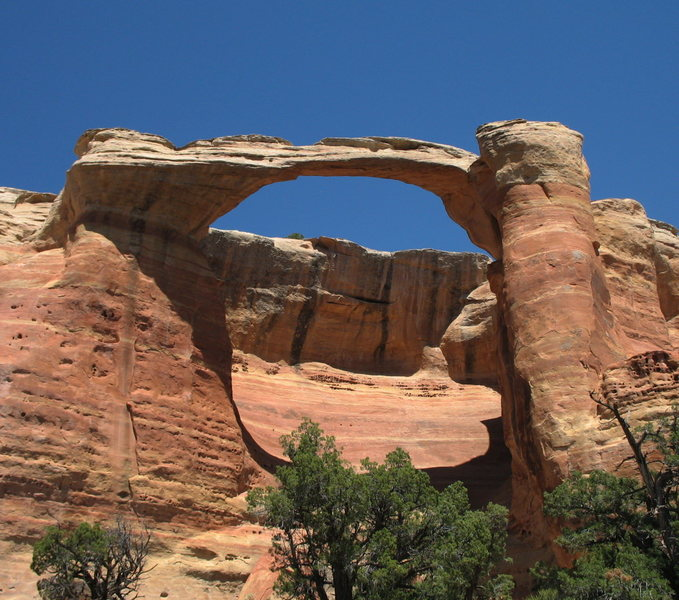 Rattlesnake Arch - the biggest of the arches in this area.