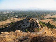 Rock Climbing Photo: The Island Wall, Mt. Rubidoux