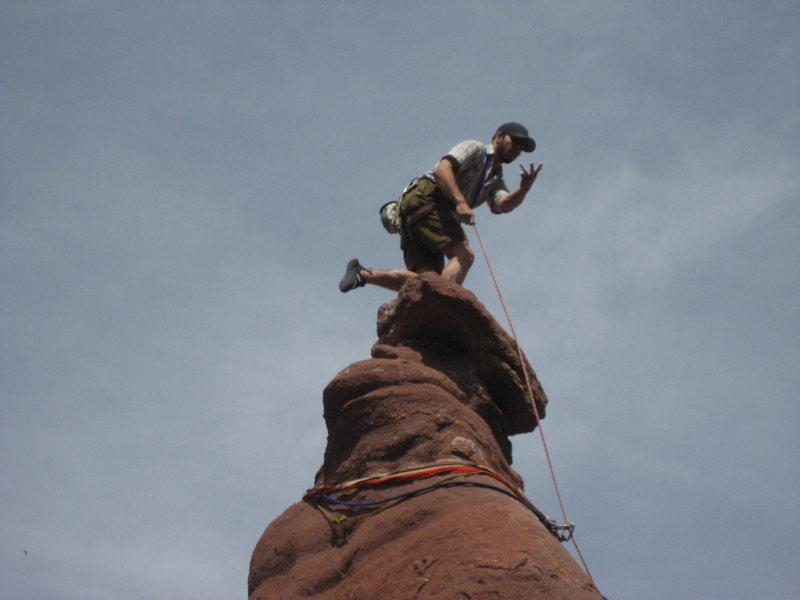Rock Climbing Photo: Bowling Trophy