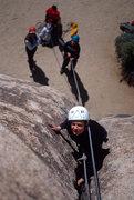 Rock Climbing Photo: Toe Jam Express