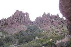 Rock Climbing Photo: Here's a picture of zonerland as taken from the tr...