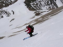 Rock Climbing Photo: Nice corn snow on Mt Sherman