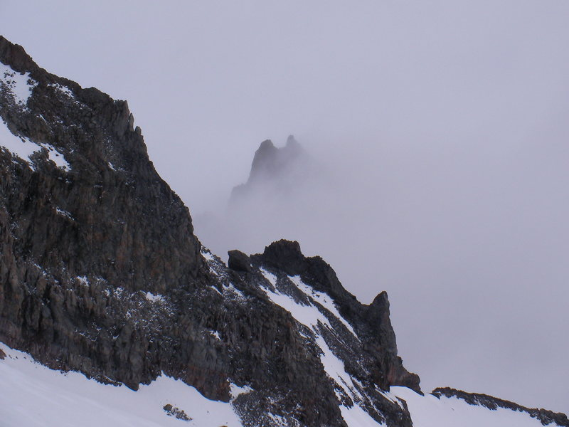 The view from camp Muir